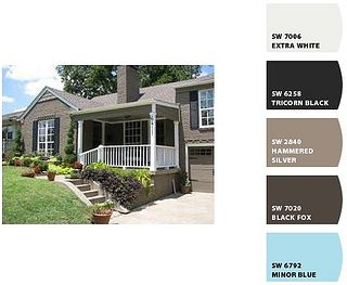 Possible exterior paint colors by it 39 s great to be home for Home exterior makeover app