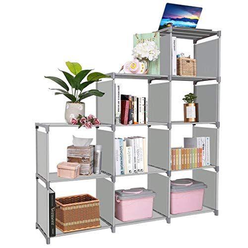 Clewiltess 9 Cube Diy Storage Bookcase Bookshelf For Kids Home Furniture Storage Shelves Closet Organ Living Room Office Cube Storage Shelves Storage Furniture