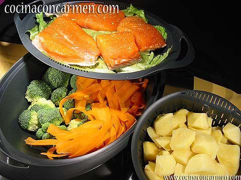 Cocina con carmen recetas de cocina cocina facil recetas thermomix plato completo con - Cocina facil y saludable thermomix ...