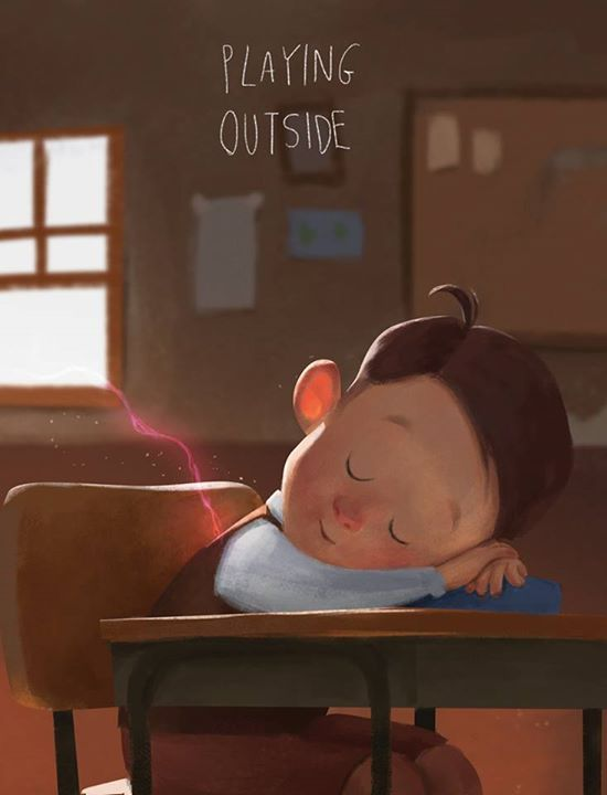 """Playing Outside"" by Renan Porto* • Blog/Website 