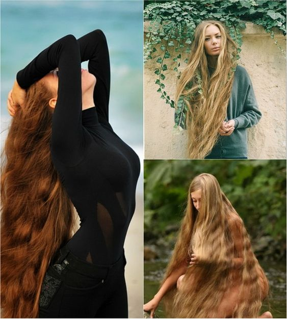 Rapunzel Super Long Hair Style Girls Styles Pinterest