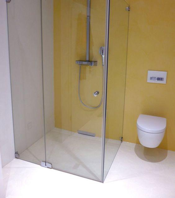 fugenloses badezimmer. vorher/nachher bilder hier http://www