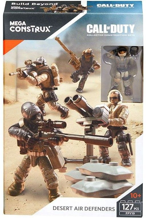 Call Of Duty Desert Air Defenders Set Call Of Duty Mega Bloks Action Figures