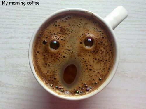 Too much coffee