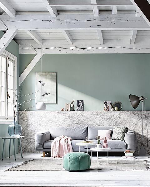 Mooie kleur muur