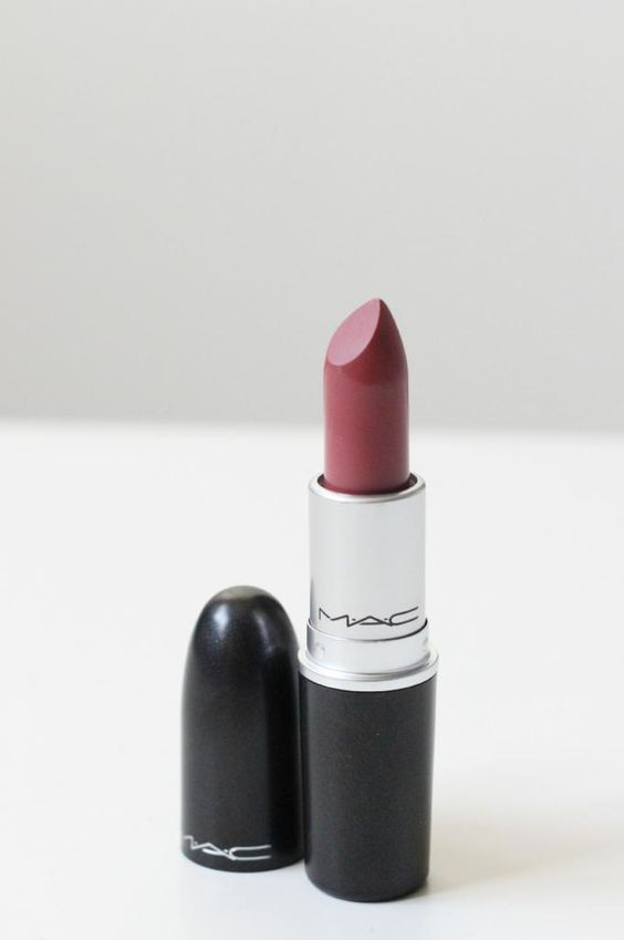 MAC Lipstick - Twig. Looked good on me, it's a little bit darker brown than a pure nude. i'd buy it eventually or a dupe.