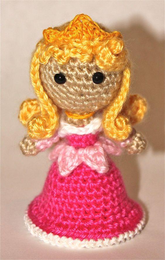 Amigurumi Disney Patronen : Aurora - Crochet Amigurumis Pinterest - Haken ...