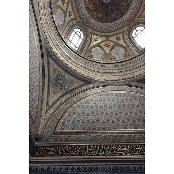 #istanbul #patterns #scripture #dome #architecture
