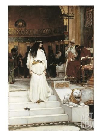 Mariamne, 1887 Giclee Print by John William Waterhouse at Art.com