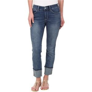 NYDJ Lorena Skinny Boyfriend Capri in Heyburn (Heyburn) Women's Jeans