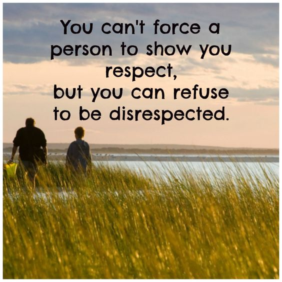 quotes disrespecting your parent | Disrespect quote: