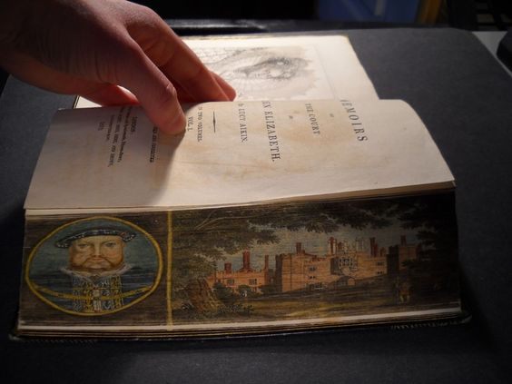 Fore-Edge Painting: