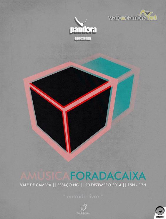 A Música Fora da Caixa > 20 Dez 2014, 15h às 17h @ Espaço Nova Geração, Vale de Cambra  #ValeDeCambra