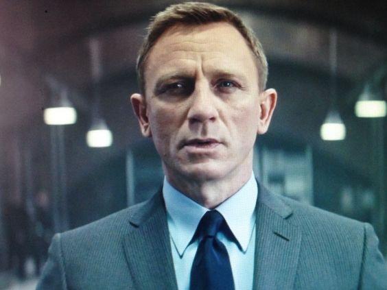 Daniel Craig as Ian Fleming's 007 James Bond in Spectre