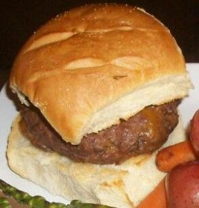 Bacon and cheddar stuffed burgers? Yes please