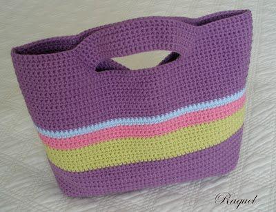 Patrones Crochet, Manualidades y Reciclado Bolso de Ganchillo Paso a Paso