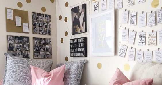 The Style Genre: {college dorm room}