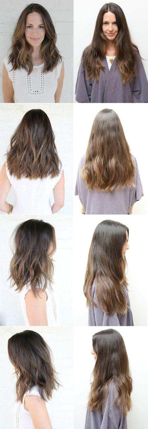 les tendances chez les coupe de cheveux dégradé femme