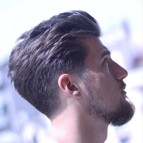 Scissor Fade Taper Haircut Men Mens Haircuts Fade Taper Fade Haircut