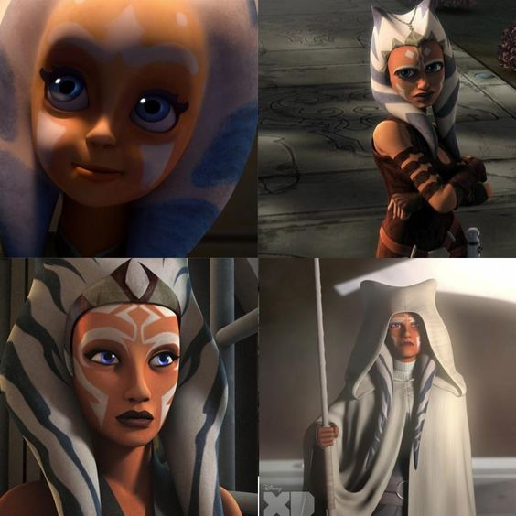 spoiler] The evolution of Ahsoka Tano : starwarsrebels