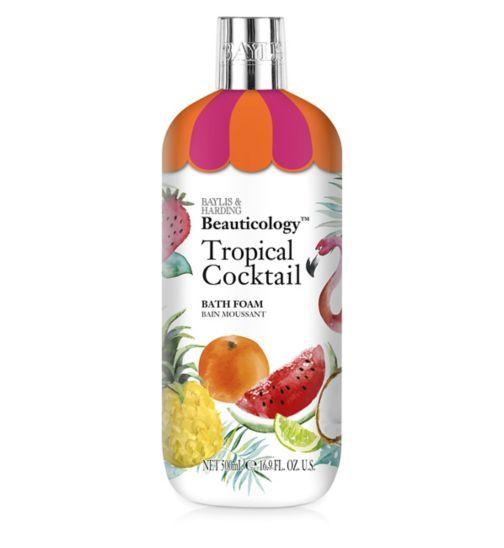 Baylis Harding Beauticology Tropical Cocktail Bath Foam 500ml