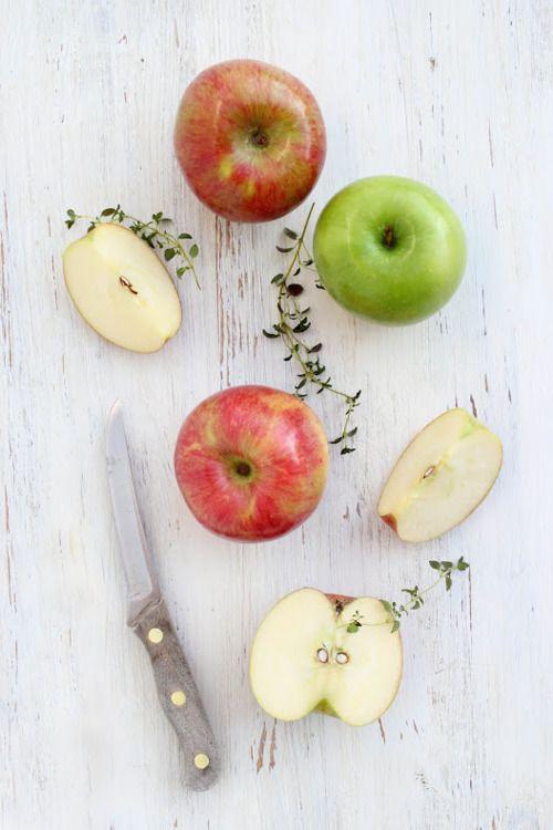 gouter les pommes