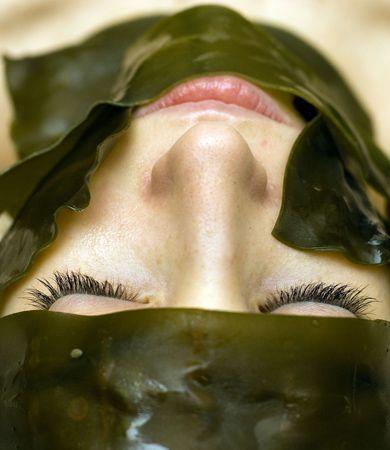 Thalassotherapy : Seaweed facial