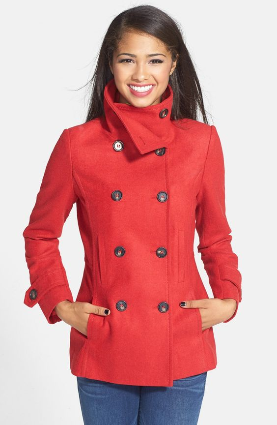 Double Breasted Peacoat | Double breasted Coats &amp jackets and The