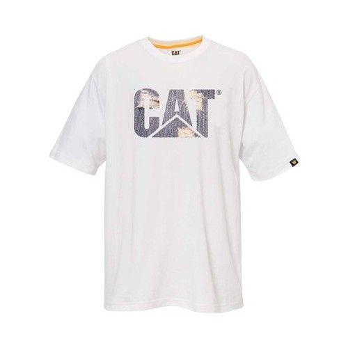 Caterpillar Mens Custom Logo T-Shirt T-Shirt