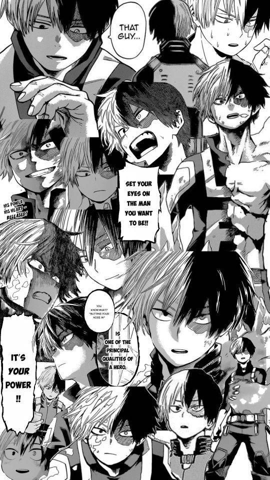 Mango Caps Von Boku No Hero Academia Todoroki Shouto Von Tumblr
