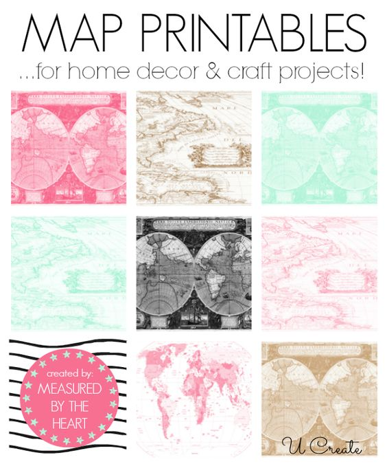 free map printables for home decor and craft projects 12 to choose from