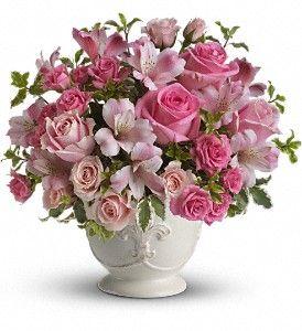 Pink Potpourri Bouquet with Roses in Metairie LA, Villere's Florist http://www.villeresflowers.com/metairie-florist/valentines-day-flowers-94c.asp?topnav=TopNav #Valentine #New_Orleans: