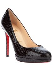 CHRISTIAN LOUBOUTIN - python skin pump || I saw these in Paris last summer. Love!