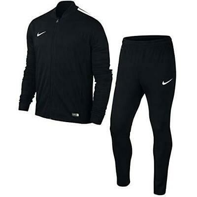 Details about Mens Nike Academy 16 Knit Black Full Tracksuit ...