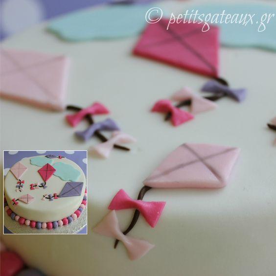 Kite cake Cake ideas Pinterest Seasons, Birthday ...