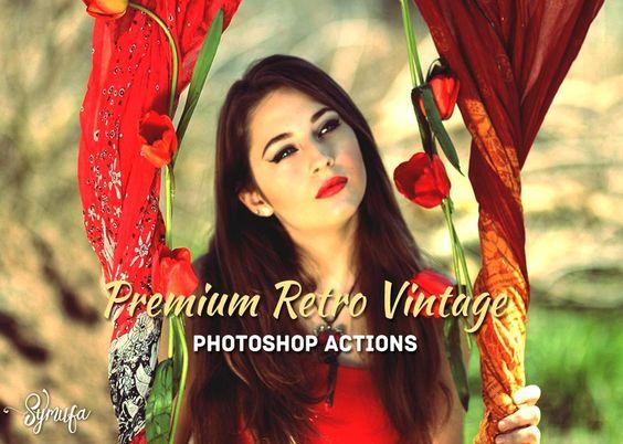 Do you love Vintage? Here is 30 Premium Retro Vintage Photoshop Actions…