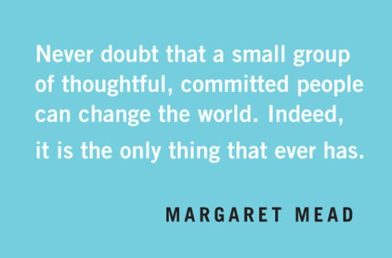 Quotables: Margaret Mead on Changing the World
