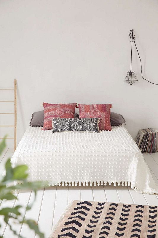 bohemian urban outfitters must-haves Tufted Coverlet