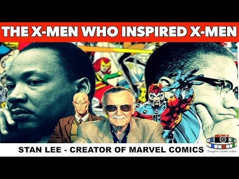 The X Men Who Inspired Stan Lee Creator Of Marvel Comics X Men Youtube X Men Black History Education Malcolm X