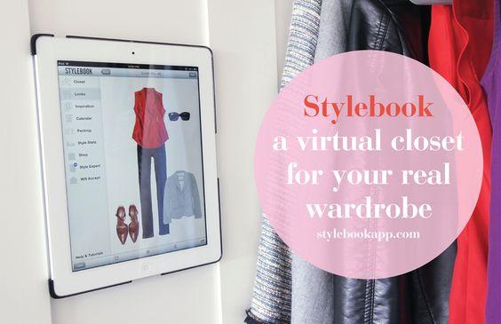 Stylebookapp.com a virtual closet for your real wardrobe