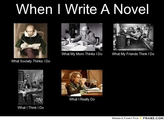 When I write a novel... - Writers Write Creative Blog: