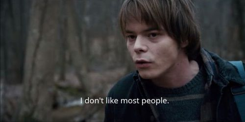 Charlie Heaton as Jonathan Byers in Stranger Things: