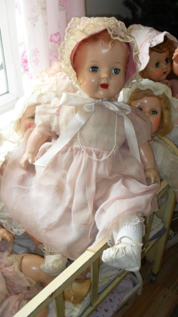 Vintage Composition Baby Doll Antique Composition Dolls