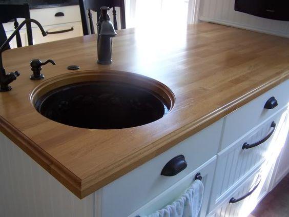 Undermount Sink Ikea : IKEA countertops - should we apply an edge? Kitchen Pinterest ...