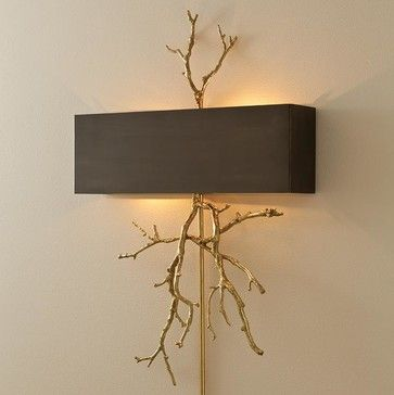 Global Views Twig Wall Sconce-Bronze - traditional - Wall Sconces - Candelabra