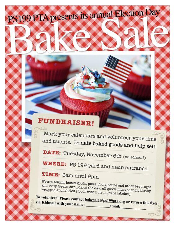 bake sale flyer - Google Search - Fundraisers Pinterest - bake sale flyer