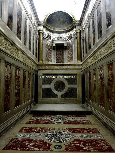 Urbino, Chapel in the Ducal Palace - Marche, Italy