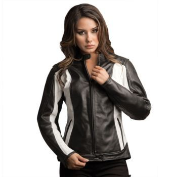 BiLT - Women's Halle Leather Motorcycle Jacket - Leather - Street ...