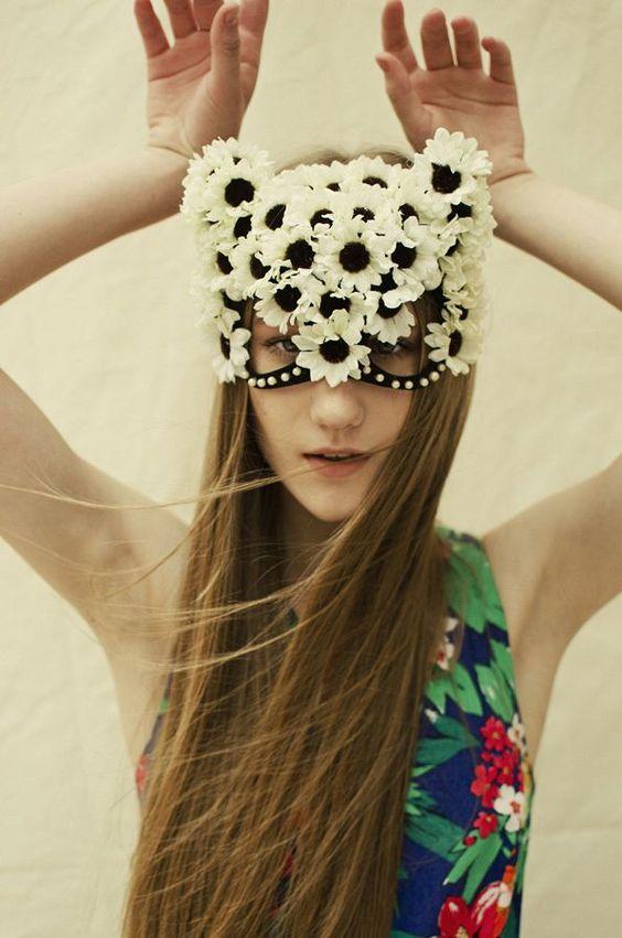 acessórios Can Can, coroa de flores, acessórios cabelo, Carnaval fantasias: