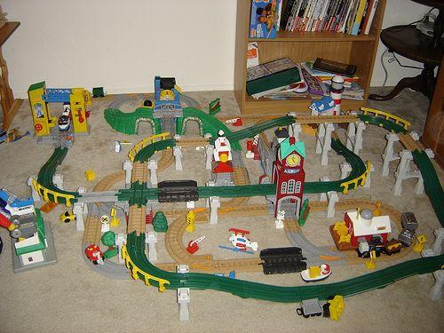Geo Track Toys 36